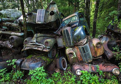 Photographer Svein Nordrum Captures Sweden's Classic Car