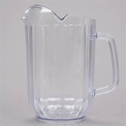 Plastic Pitcher Beverage Clear San Oz Choice