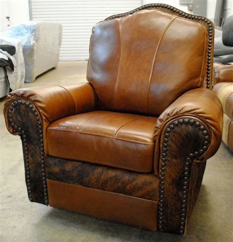 Mohave Leather Recliner  Rick's Home Store