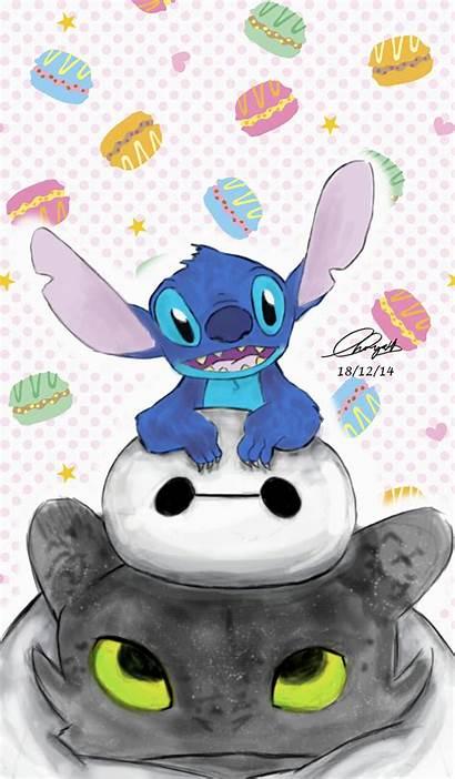 Stitch Lilo Disney Toothless Cartoon Stich Wallpapers