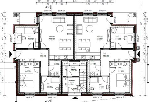 Grundriss 3 Familienhaus Neubau by Mehrfamilienhaus Schluesselfertig Bauen 4 Familienhaus
