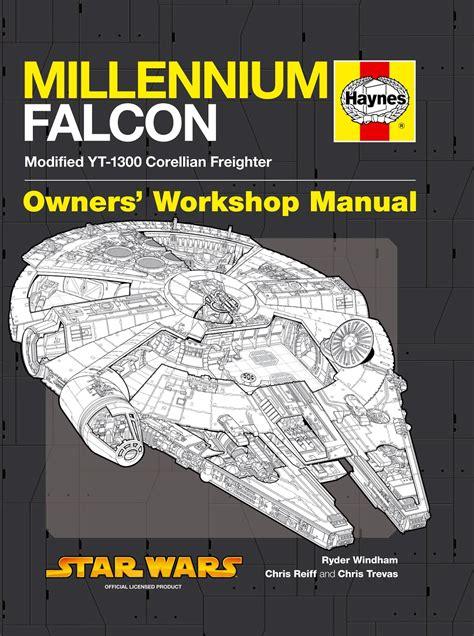 review haynes millennium falcon owners workshop manual
