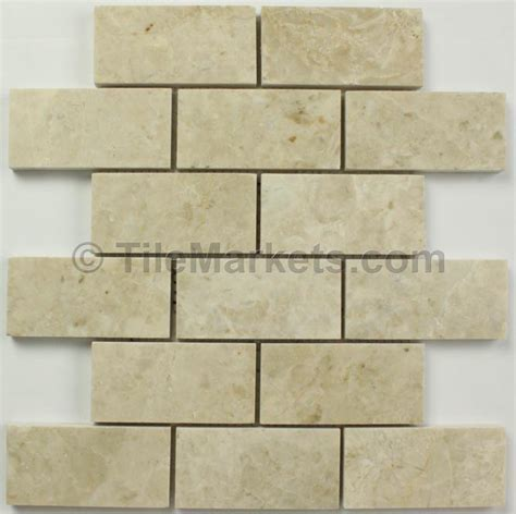 Crema Marfil Subway Tile 2x4   Wholesale TileMarkets®