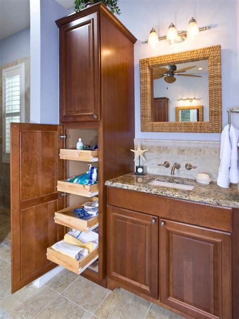 Bathroom Vanity Design Plans by 18 Savvy Bathroom Vanity Storage Ideas Hgtv