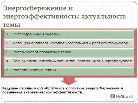 Авторизация . актуальность энергосбережения для предприятий