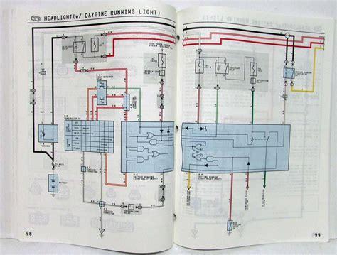 1993 toyota corolla electrical wiring diagram manual us canada