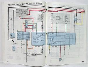 1993 Toyota Corolla Electrical Wiring Diagram Manual Us