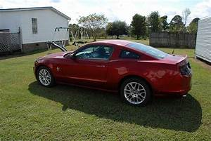 Ruby Red Metallic 2014 Ford Mustang V6 low miles For Sale - MustangCarPlace