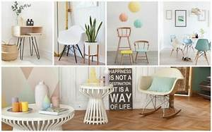 deco scandinave pastel With idee couleur mur salon 15 la deco esprit mandala joli place