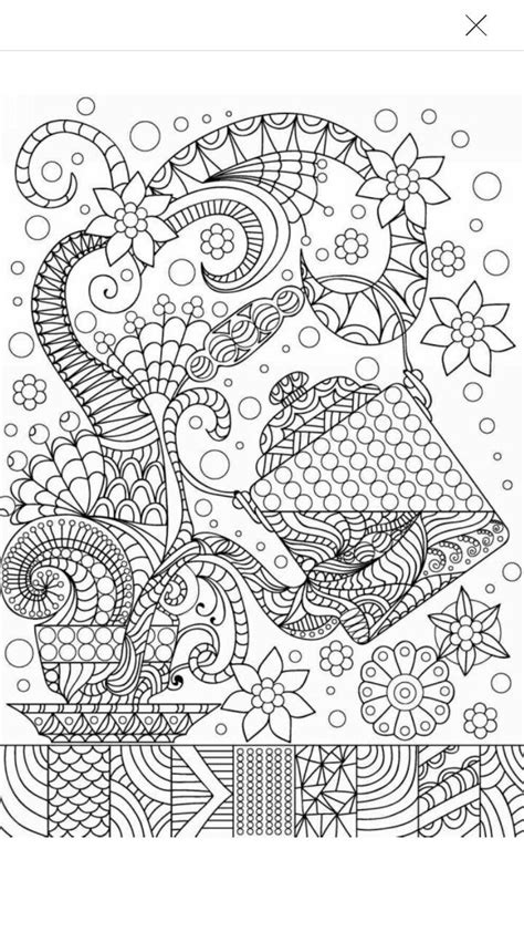 tea coffee coloring page coffee tea coloring pages