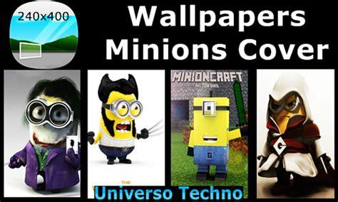 [wallpaper] Papel De Parede Minions  240x400  Techno Wins