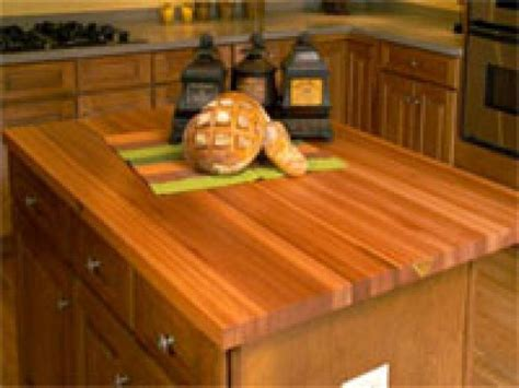 choosing the right kitchen countertops hgtv choosing countertops wood hgtv