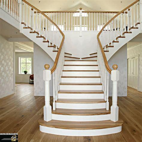treppe weiß holz treppe konstruieren verziehen techniker forum