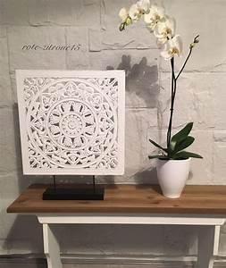 Holz Ornament Wand : ausgezeichnet paravant deko sichtschutz paravents g nstig kaufen ebay paravent raumteiler ~ Whattoseeinmadrid.com Haus und Dekorationen
