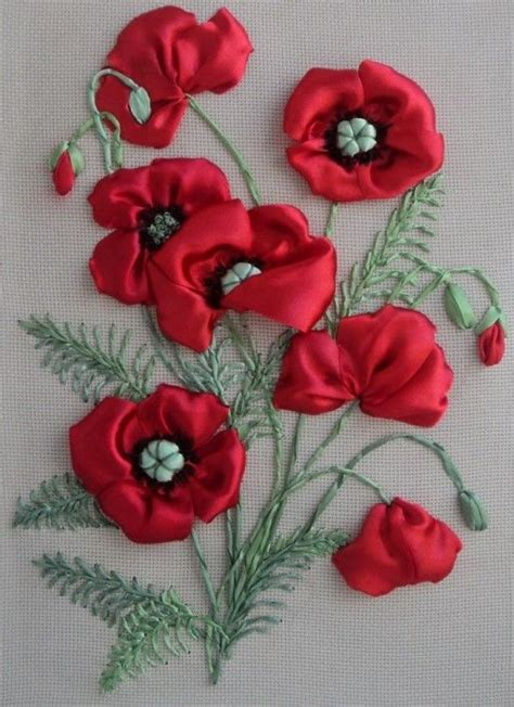 satin ribbon craft ideas 17 best ideas about silk ribbon embroidery on 5364