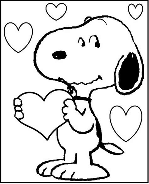 snoopy coloring pages the 25 best snoopy coloring pages ideas on