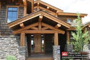 small a frame house plans free post and beam log home log home entrance precisioncraf
