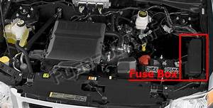 Fuse Box Diagram  U0026gt  Ford Escape Hybrid  2011
