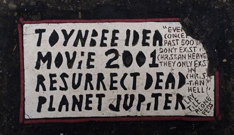 Toynbee Tiles Documentary ghoulish graffiti of the past and present the ghost diaries
