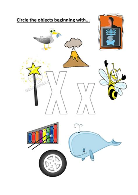 things that start with letter t with objects that circle objects that start with x x by kayld teaching 33428
