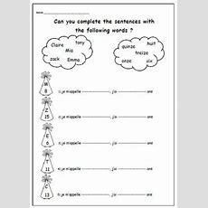 Introducing Yourself With French Printable  Primary Teacher  Primary Printable For Learning