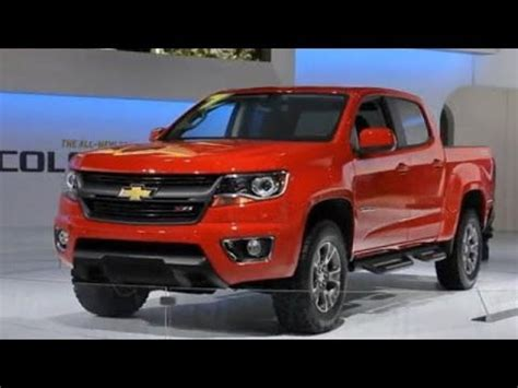 chevrolet colorado debut video  la auto show