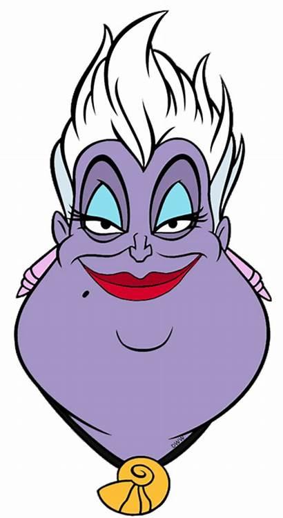 Ursula Disney Clipart Clip Flotsam Jetsam Drawings