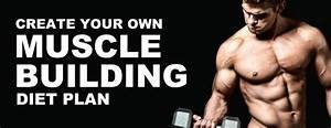 Bodybuilding Nutrition  Create Your Own Muscle Building Diet Plan