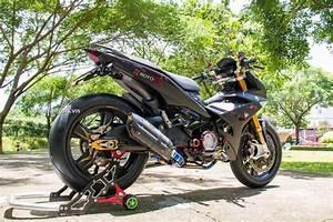 Heboh Modifikasi Yamaha Jupiter Mx King 150 Velg Moge
