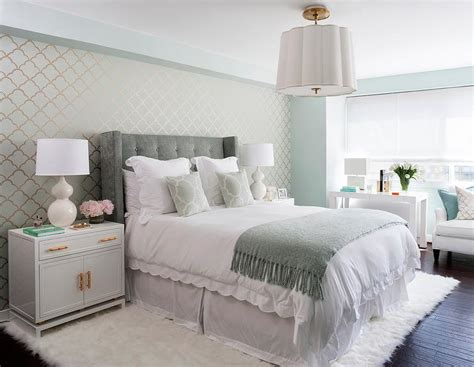 green and gray bedroom bedrooms riad fabric design ideas