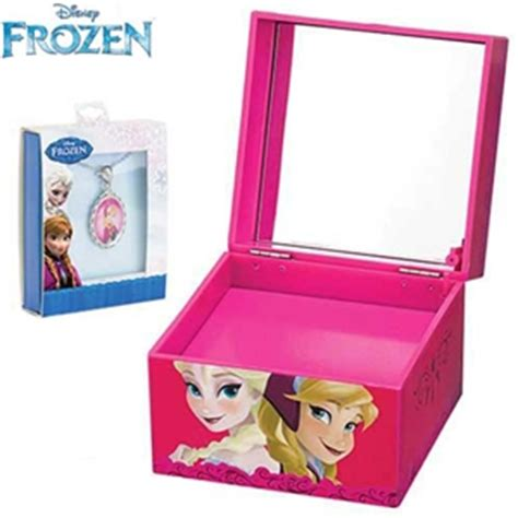 Mr. Christmas Anna and Elsa Musical Jewelry Box Plays Let