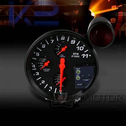 Gauge Tachometer Rpm Shift Kit Enlarge Oil
