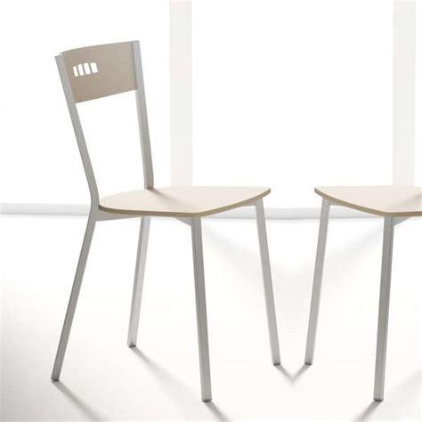 chaise cuisine moderne chaise de cuisine moderne en bois et métal versus 4
