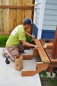 Fabriquer Son Escalier : fabriquer escalier exterieur bois fashion designs ~ Premium-room.com Idées de Décoration