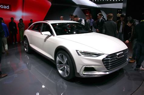 Salon Shanghai 2018 Audi Prologue Allroad Concept Largus