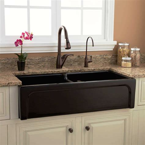 black apron front kitchen sink grey stainless apron front kitchen sink with white 7863