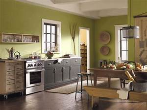 green kitchen paint colors pictures ideas from hgtv hgtv With best brand of paint for kitchen cabinets with avocado sticker