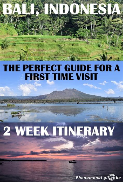 perfect  week bali itinerary   time visitors
