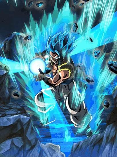 Gogeta Dragon Ball Dokkan Kamehameha Gifs Battle
