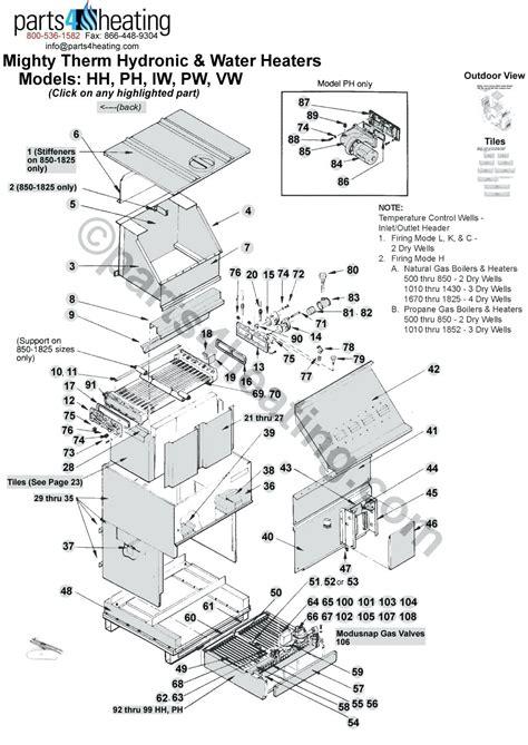 diagram goodman furnace parts diagram