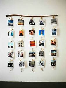 Guirlande Accroche Photo : 10 ide kreasi hiasan dinding kamar dari kumpulan foto keren ~ Teatrodelosmanantiales.com Idées de Décoration