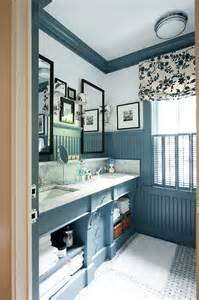 Pictures Of Bathrooms With Beadboard by Dramatic Decorating Ideas Using Black Framed Mirrors