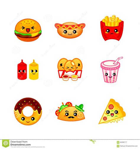 cuisine emotion food with faces pictures to pin on