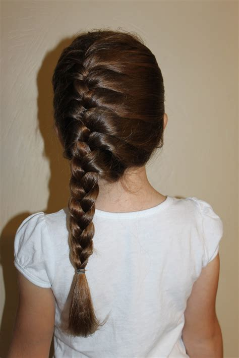 hairstyles for girls the wright hair side french braid
