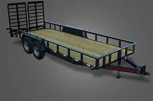 Deluxe 13000 Gvwr Utility Trailer For Sale