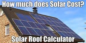 Tin Roof Cost Estimate by Solar Roofing Calculator