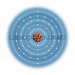 Xenon, atomic structure - Stock Image C023/2560 - Science ...