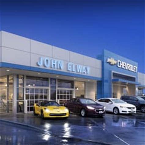 John Elway Chevrolet On South Broadway  Car Dealers