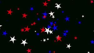 4k Red Blue And Gold Spiral Stars Animated Black ...