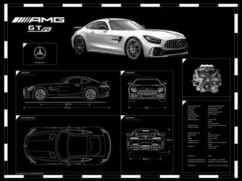 engraved car blueprint  sale  garage goals official